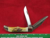 CASE XX STAG HANDLE SINGLE 2 BLADE KNIFE