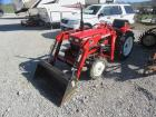 YANMAR TRACTOR WITH LOADER BUCKET