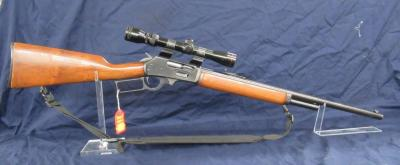 MARLIN 1895 RIFLE WITH SCOPE