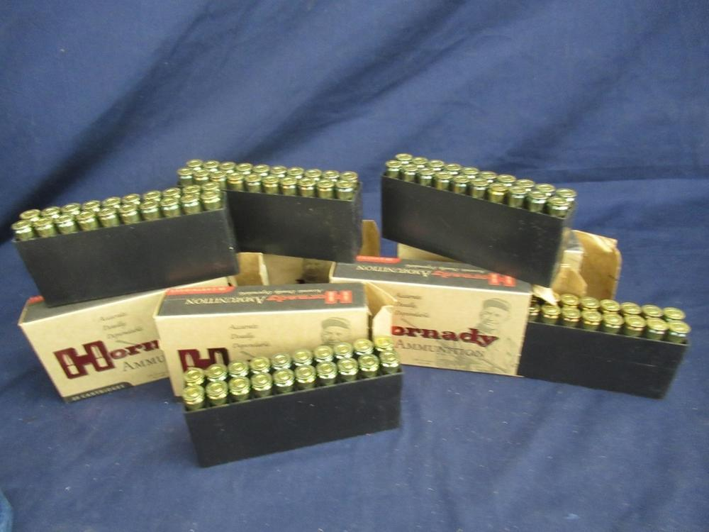 5 BOXES OF HORNADY 22-250 REM