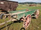 Horse Drawn Wagon - green