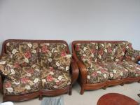 B- COUCH AND LOVESEAT