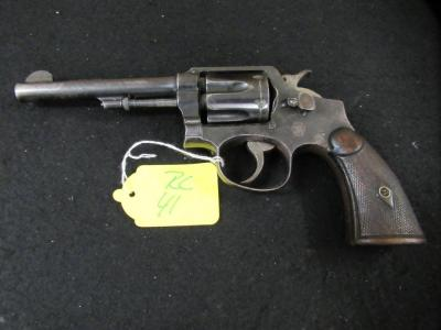 SMITH AND WESSON .38 SPECIAL REVOLVER