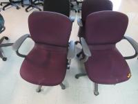 4 OFFICE CHAIRS