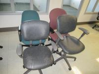 SET OF 4 OFFICE CHAIRS