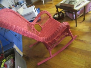WICKER ROCKING CHAIR - R1