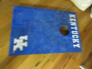 UK CORNHOLE SET - R1