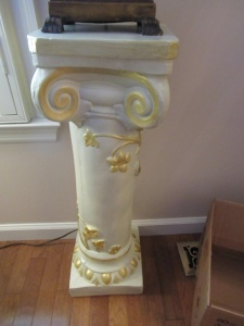 COLUMN STYLE PLANT STAND - FLR