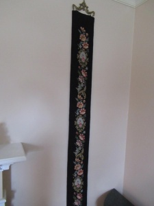 WALL HANGING DRAPERY PIECE - FLR