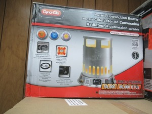 DYNAGLO PORTABLE HEATER