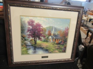 THOMAS KINKADE PRINT STREAMS OF LIVING WATER