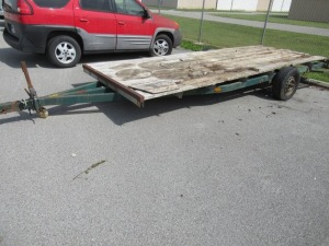 16 FOOT SINGLE AXLE TRAILER