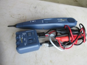 FLUKE NETWORKS PROBE AND TONER