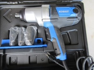 KOBALT ELECTRIC IMPACT WRENCH