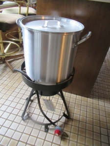PROPANE DEEP FRYER - US