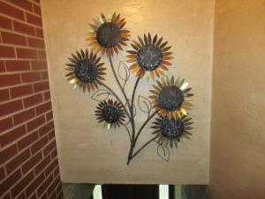 WALL HANGING SUNFLOWER - US