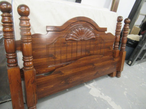 QUEEN SIDE BED WITH FRAME