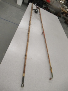 2 CAIN POLE FISHING RODS