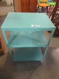 3 TIER METAL KITCHEN CART