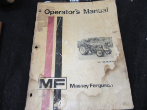 MASSEY FERGUSON OPERATORS MANUAL