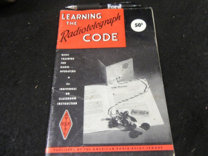 LEARNING THE RADIOTELEGRAPH CODE