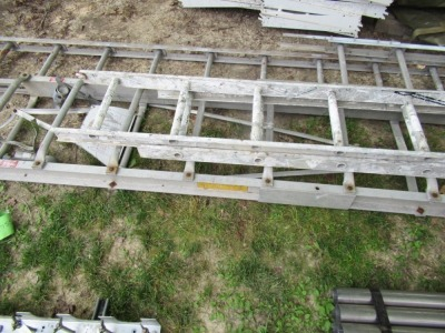 4 PIECES OF ALUMINUM LADDER