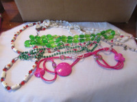 LADIES BEADED NECKLACES - 2