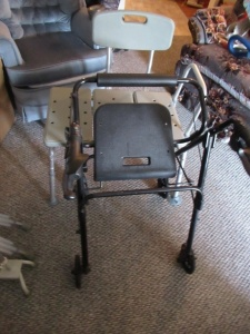 SEATED WALKER AND SHOWER CHAIR