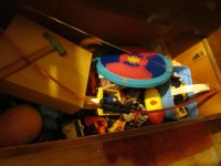 WOODEN TOY CHEST- USL - 3
