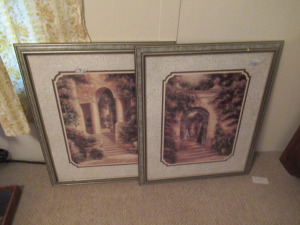MATCHING PRINTS IN FRAME