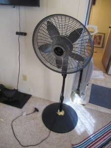 STANDING ROTATING FAN