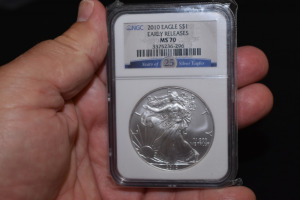 2010 EAGLE EARLY RELEASES DOLLAR