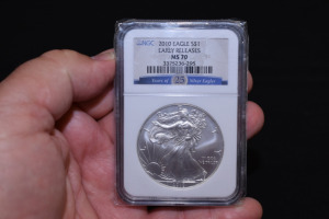 2010 EAGLE DOLLAR - EARLY RELEASES