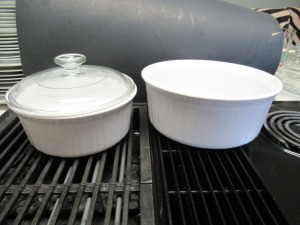 CORNING WARE BAKING DISHES