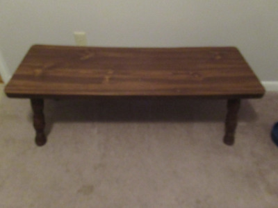 WOODEN COFFEE TABLE      --BR1