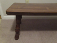 WOODEN COFFEE TABLE      --BR1 - 2