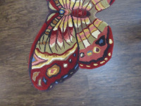 BUTTERFLY RUG       -DR - 3
