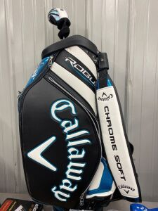 Callaway Leather Chrome Soft Rogue Golf Bag