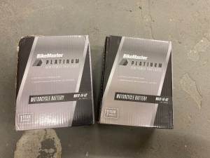 2 BikeMaster Motorcycle Battery