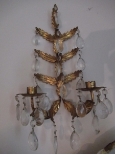 WALL HANGING CANDLE HOLDERS   -LR