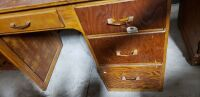 4 drawer wooden desk