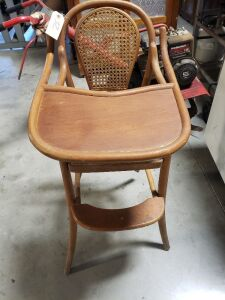 Bamboo Style High Chair