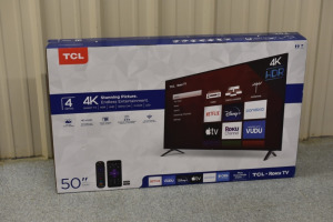 TCL 50-INCH 4K SMART TV