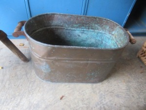 COPPER TUB         -G