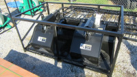 72-INCH SKID-STEER GRAPPLE BUCKET - L15 - 2