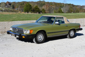 1980 MERCEDES ROADSTER - TITLE - KEY - OS