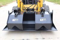 72-INCH SKID-STEER GRAPPLE BUCKET - L15 - 12
