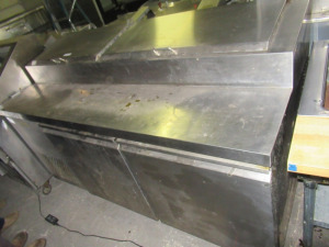 COLD TECH STAINLESS STEEL PREP TABLE - BLDG