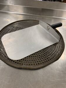 PIZZA COOKING PAN & PIZZA REMOVER