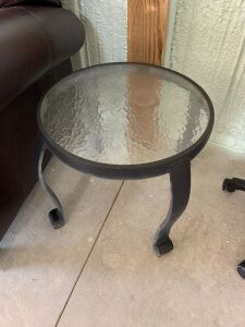 OUTDOOR FURNITURE SIDE TABLE